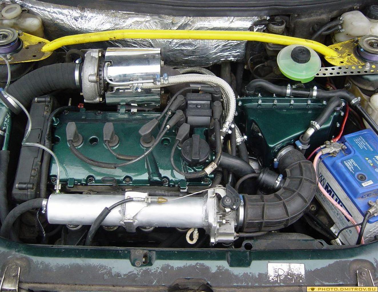 Как сделать 8 клапанный двигатель мощнее ваз 2114